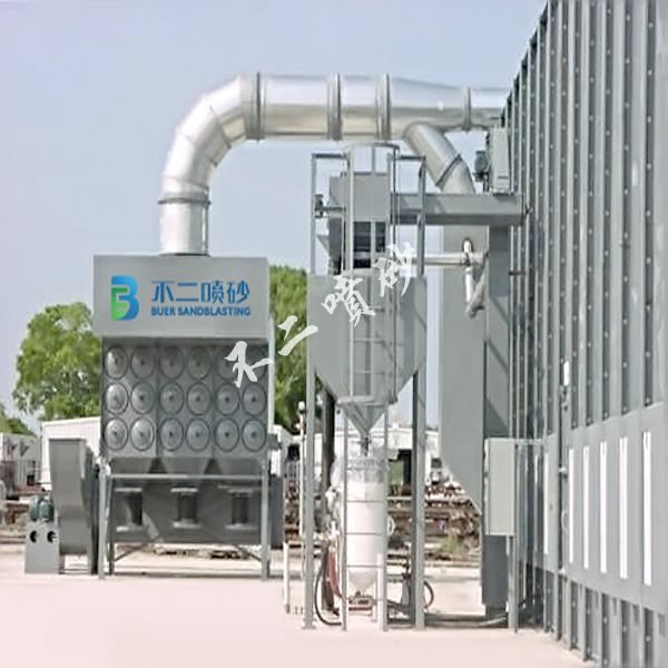 机械回收喷砂房-青岛不二喷砂科技有限公司